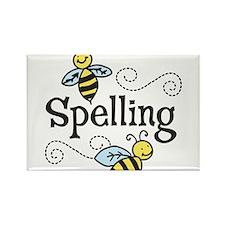Spelling Rectangle Magnet