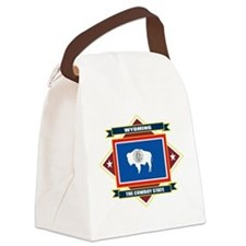 Wyoming diamond.png Canvas Lunch Bag