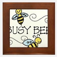 Busy Bees Framed Tile