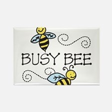Busy Bees Rectangle Magnet
