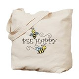 Bee Canvas Tote Bag