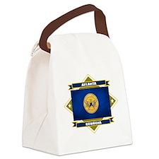 Atlanta diamond.png Canvas Lunch Bag