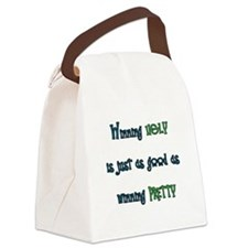 Winning Ugly Canvas Lunch Bag