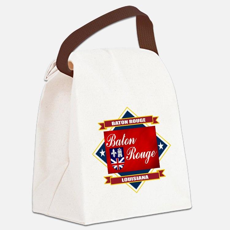 Baton Rouge diamond.png Canvas Lunch Bag