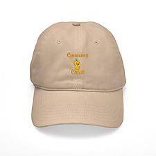 Canoeing Chick #2 Baseball Cap