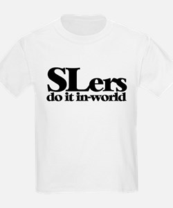 SLers Do It In-World Kids T-Shirt