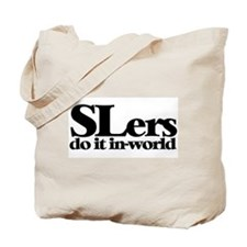 SLers Do It In-World Tote Bag