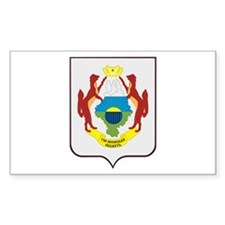 Tyumen Coat of Arms Rectangle Decal