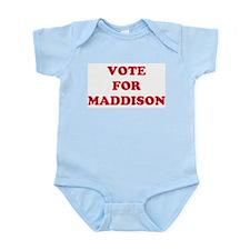VOTE FOR MADDISON  Infant Creeper