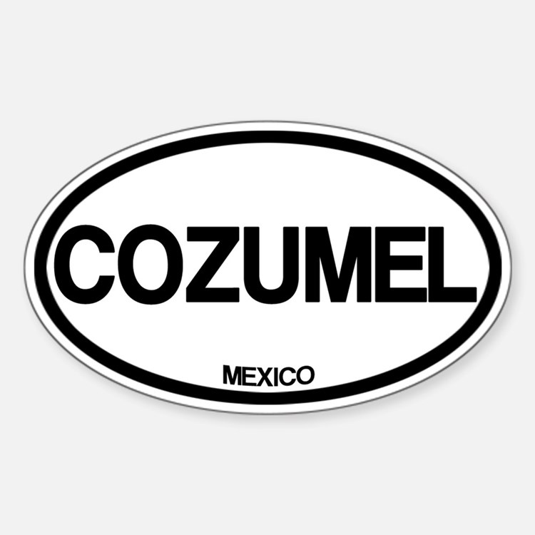 Cozumel Decal
