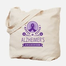 Alzheimer's Disease Vintage Tote Bag