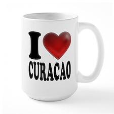 I Heart Curacao Mug