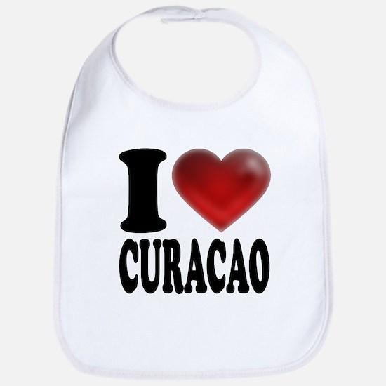 I Heart Curacao Bib
