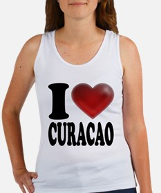I Heart Curacao Women's Tank Top