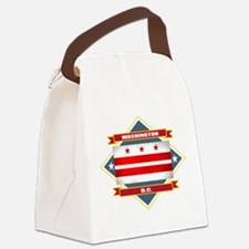 Washington DC diamond.png Canvas Lunch Bag