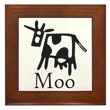 Moo Framed Tile