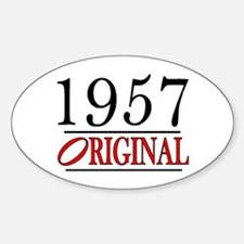 1957 Oval Decal