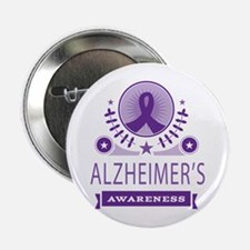 "Alzheimer's Disease Vintage 2.25"" Button"