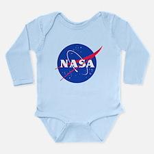 NASA Long Sleeve Infant Bodysuit