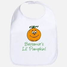 Bestemor Little Pumpkin Bib