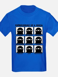 Expressions of a Ninja T