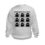 Expressions of a ninja Crew Neck