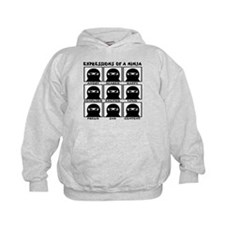 Expressions of a Ninja Hoodie