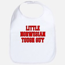 Little Norwegian Tough Guy Bib