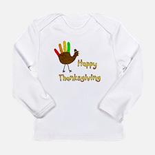 Hand Turkey - Long Sleeve Infant T-Shirt