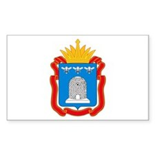 Tambov Coat of Arms Rectangle Decal