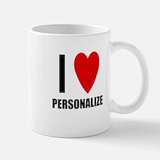I Love... Small Small Mug