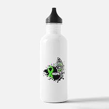 Butterfly Hope Lymphoma Water Bottle