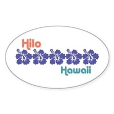 Hilo Hawaii Decal
