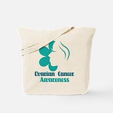 Ovarian Cancer Awareness Lady Tote Bag