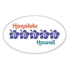 Honolulu Hawaii Decal