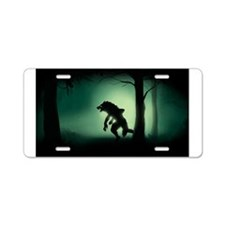 Midnight Stalk Aluminum License Plate
