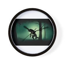 Midnight Stalk Wall Clock
