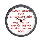 Alcohol happy happy hour Wall Clocks