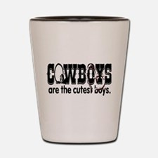 Cowboys Shot Glass