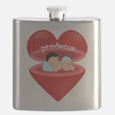 Love Produces Love Flask