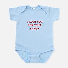 BAWDY.png Infant Bodysuit