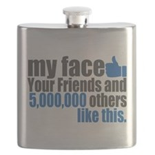 My face Flask