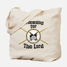 Drumming for the Lord Tote Bag