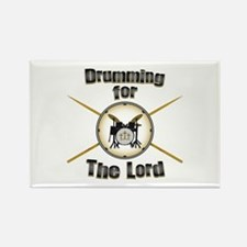 Drumming for the Lord Rectangle Magnet (10 pack)