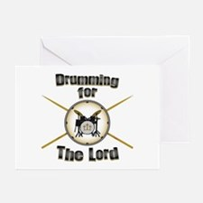 Drumming for the Lord Greeting Cards (Pk of 10)