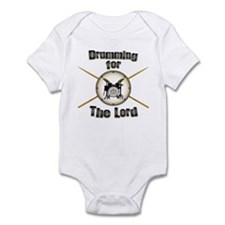 Drumming for the Lord Infant Bodysuit