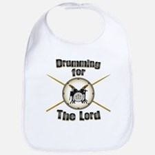 Drumming for the Lord Bib