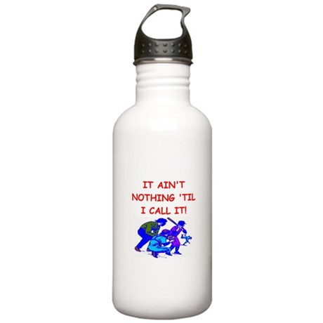 baseball umpire Stainless Water Bottle 1.0L