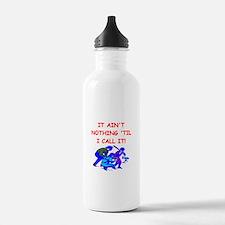 baseball umpire Water Bottle