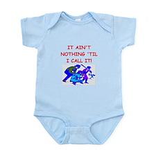 baseball umpire Infant Bodysuit